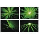 Projecteur Laser Vert - 100mW - 7 canaux DMX