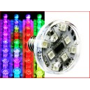 FUN/RGB SMD -E14 -12LED - 24V - 2W