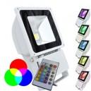 Projecteur LED 100W - RGB